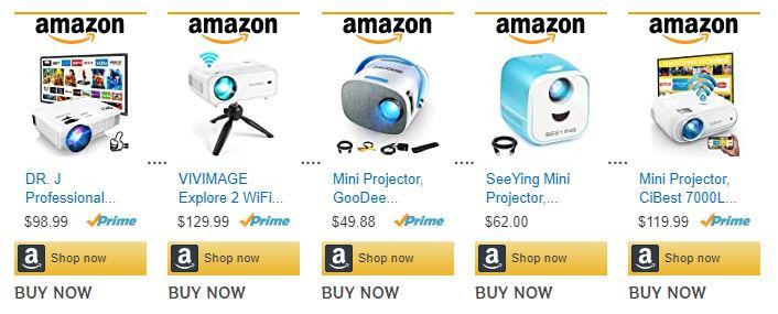 Smart Phone Mini Projector Australia = Buy MINI PROJECTOR in Australia #MiniProjector