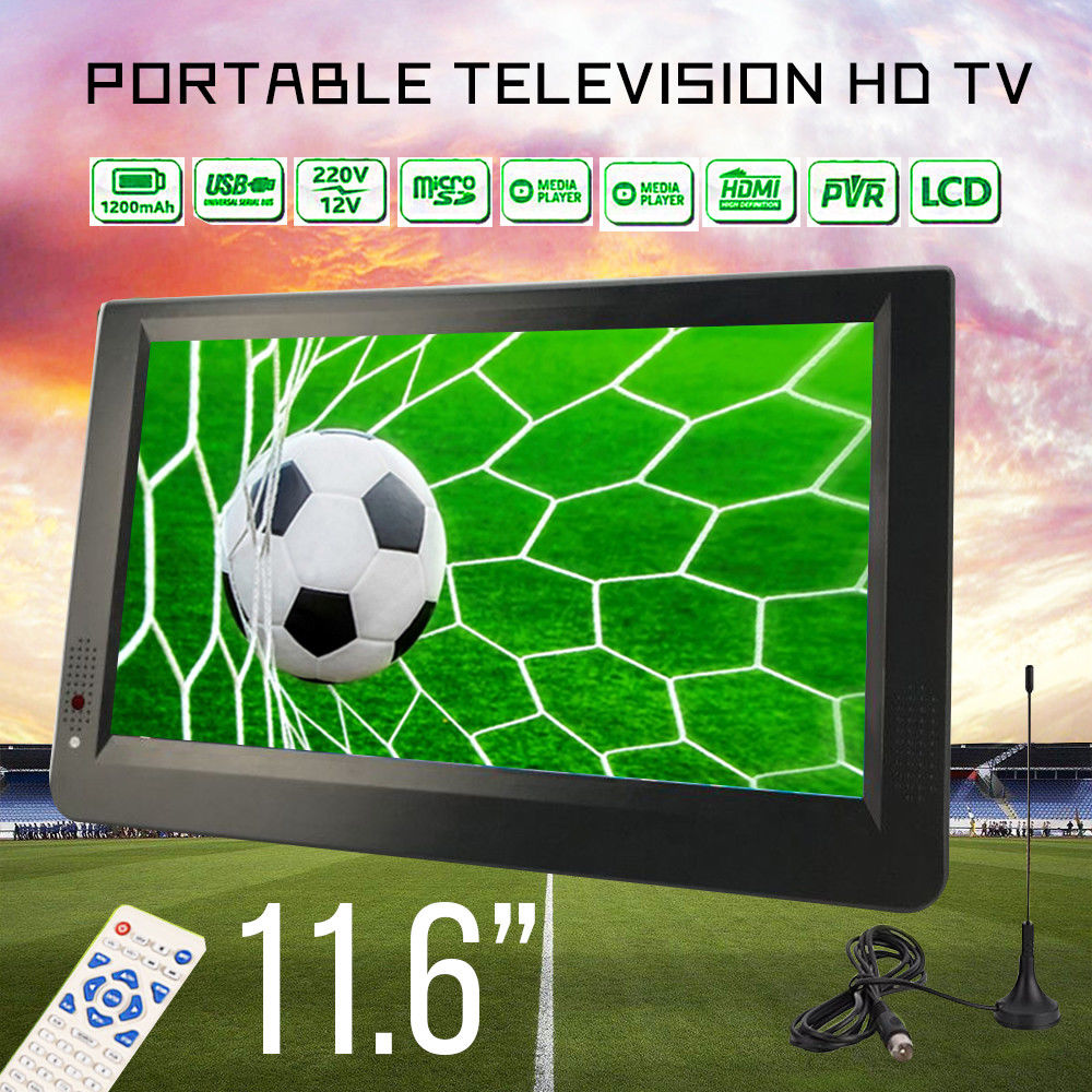 PORTABLE TELEVISION AUSTRALIA - Built-in Battery, HDTV, DTV Digital Channels Australia