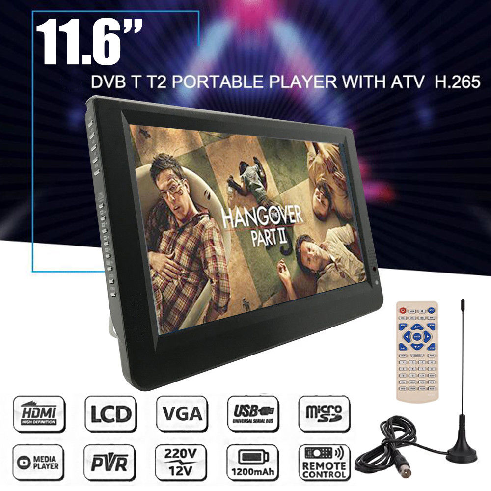 Portable Digital DTV handheld that works in Australia - Battery Powered Hand Held TV