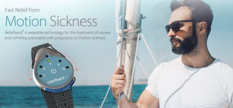 Electronic Device Stop Sea Sickness = Relief Band Available in Australia
