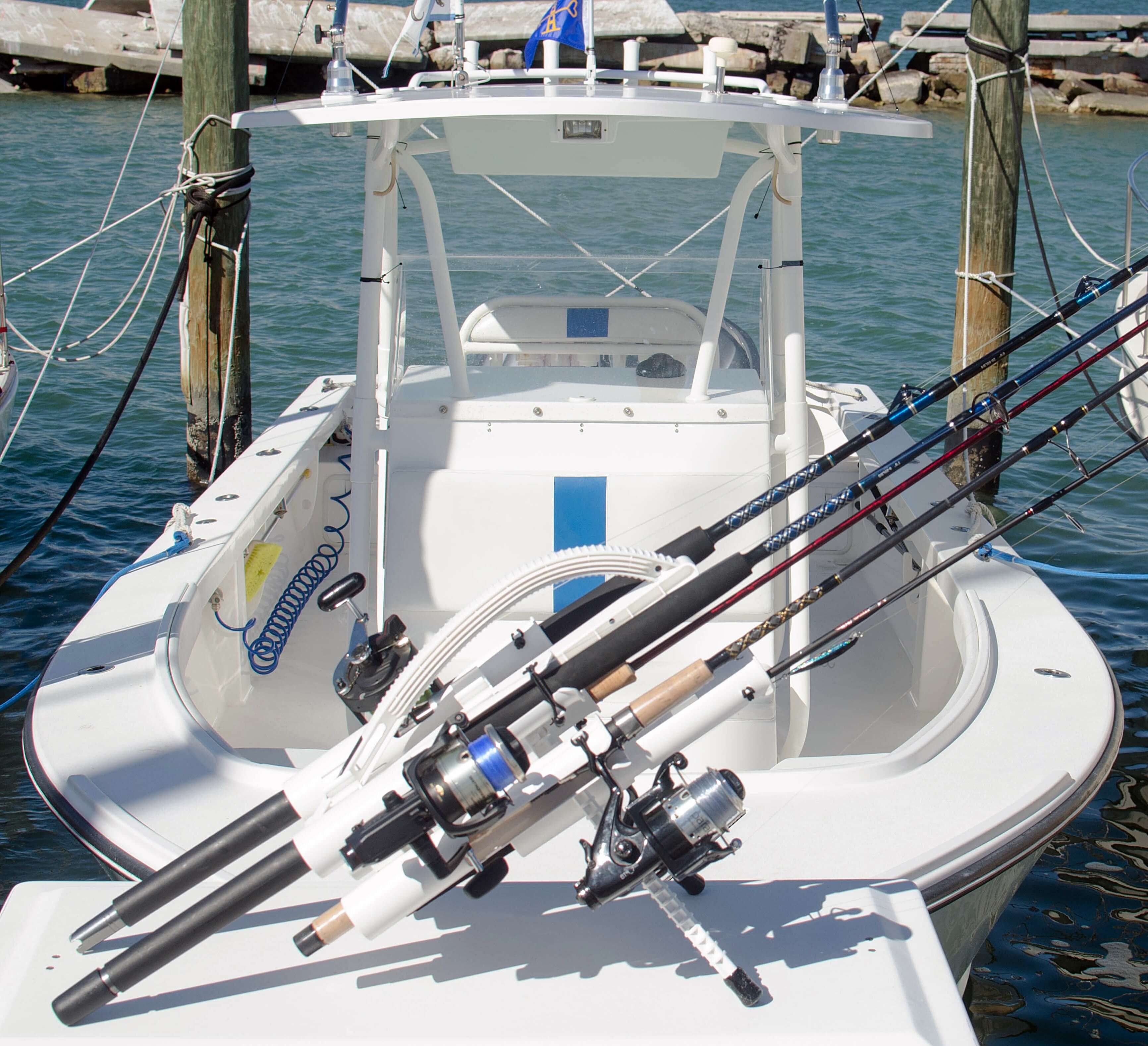 Rod Holder for Boats = Rod Holder for Jetty Fishing = Fishing Rod Stand for Jetty