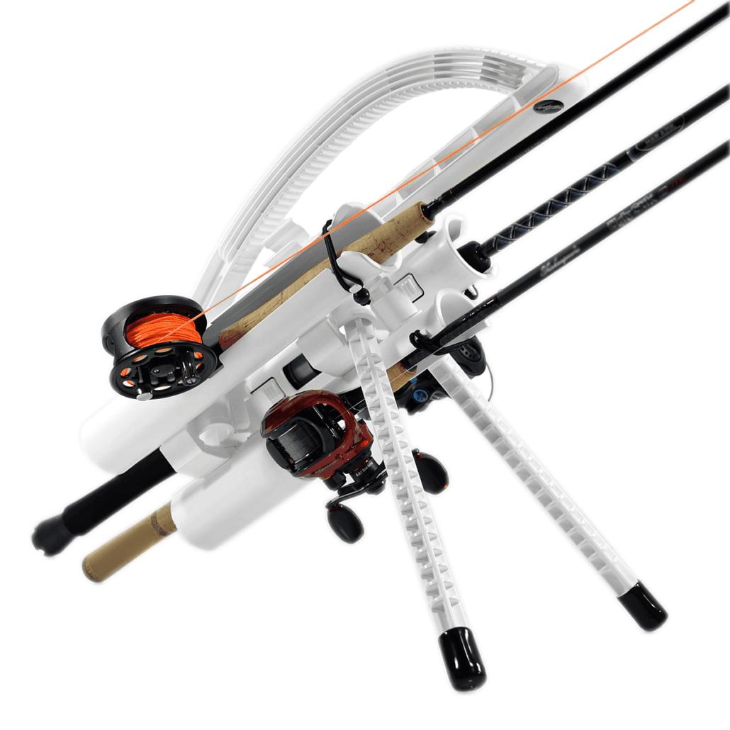 Best way to carry Fishing Rods = #FishBuggy #FishHolder #FishingRodHolder